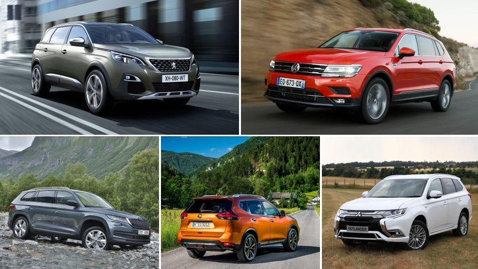 El mejor SUV grande, en cifras reales: 5008, Kodiaq, X-Trail, Tiguan Allspace…