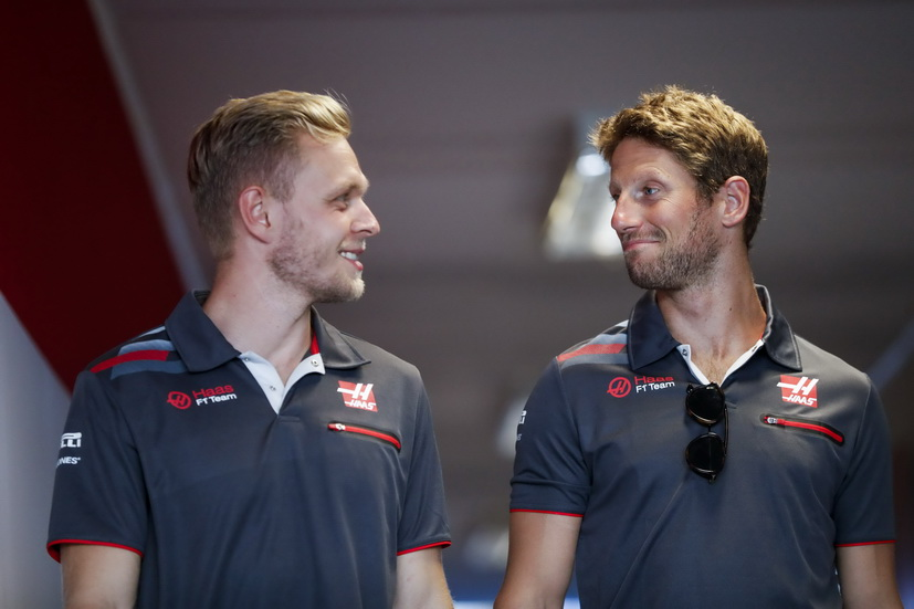 Haas confirma sus pilotos para 2019