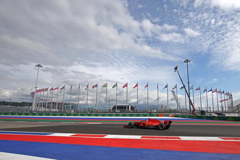 GP de Rusia (FP1): Sebastian Vettel lidera los tiempos sin españoles en pista
