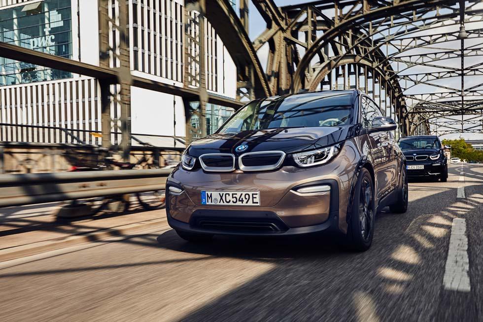 BMW i3 y BMW i3s 2019: ahora, con batería de 120 amperios y más autonomía