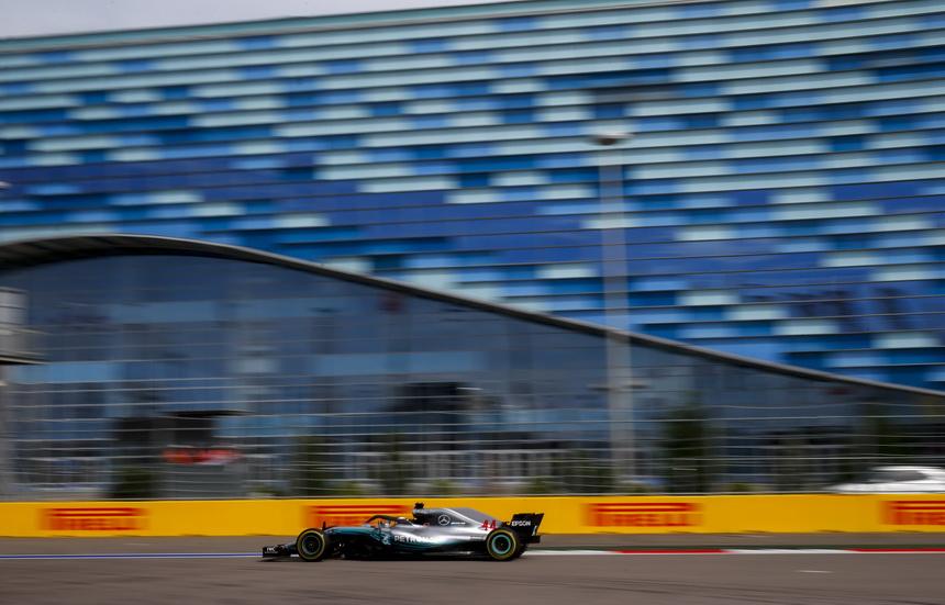 GP de Rusia (FP2): los Mercedes dominan en uno de sus mejores circuitos