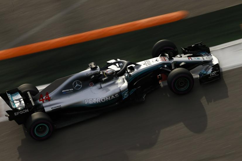 GP de Rusia (FP3): Hamilton bate el récord del circuito de Sochi
