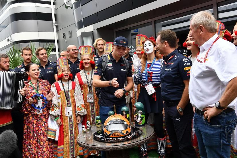 GP de Rusia: ¡feliz cumpleaños, Max Verstappen!