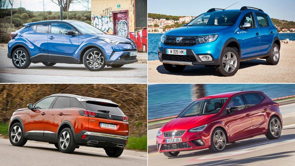 Sorpresas en la lista de los 10 coches y SUV más vendidos en septiembre