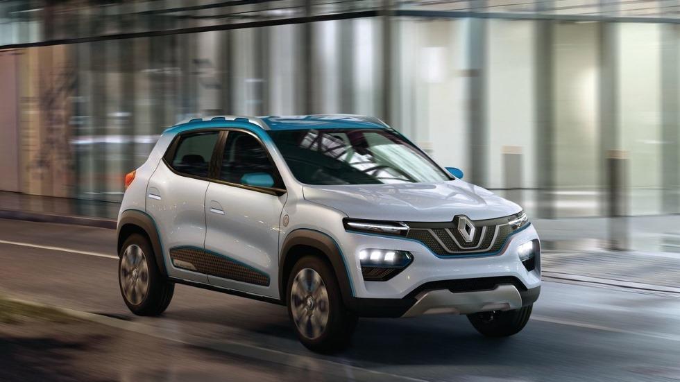 Renault K-ZE: el nuevo SUV eléctrico barato y universal para 2019