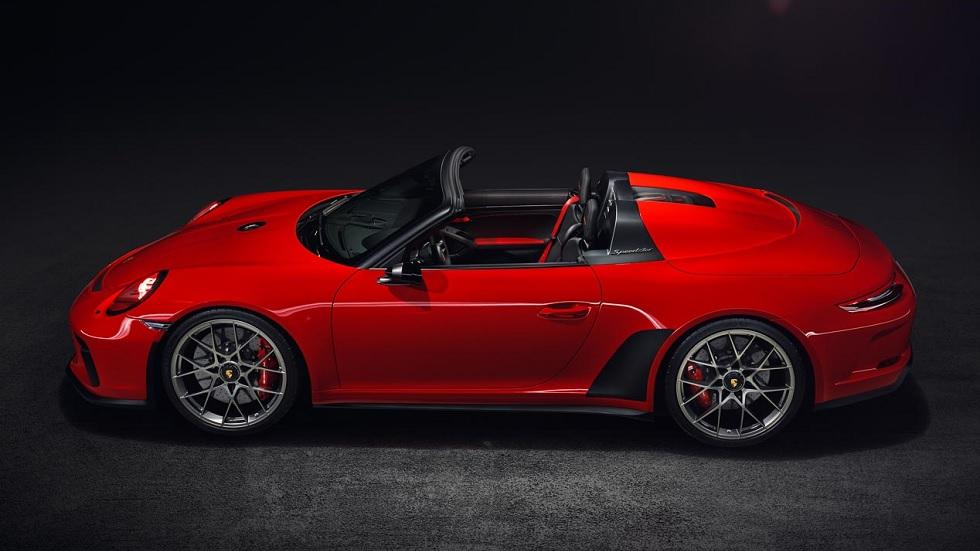 Porsche 911 Speedster 2019: edición especial limitada a 1.948 unidades