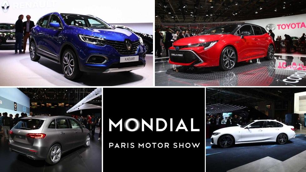 Los mejores coches y SUV del Salón de París: Serie 3, Kadjar, A1, Tucson, Duster…