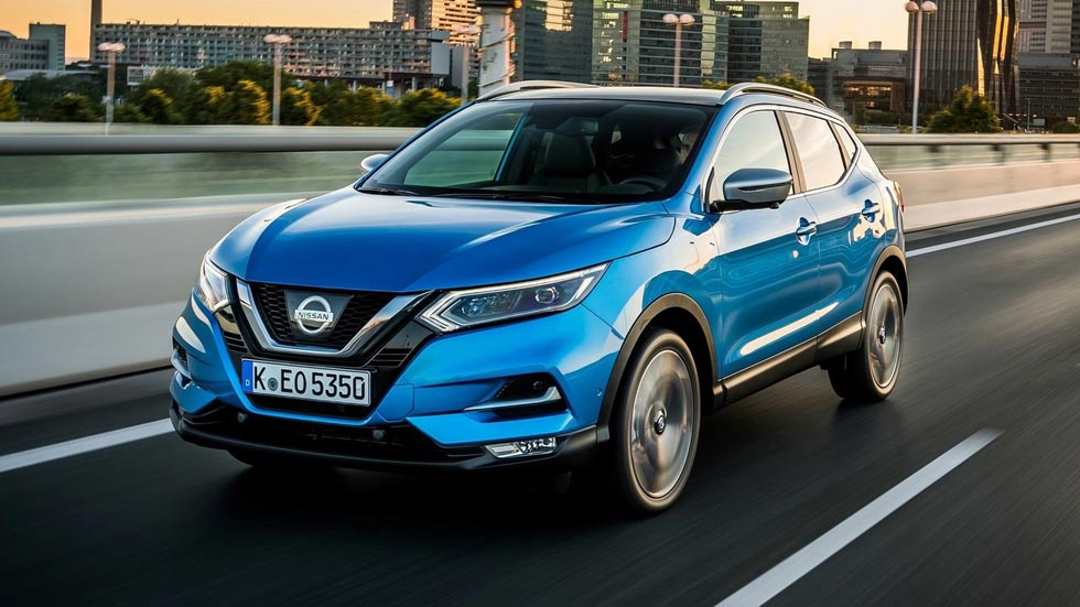 nissan qashqai 2019 el suv l der estrena nuevo motor. Black Bedroom Furniture Sets. Home Design Ideas