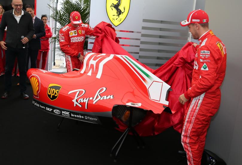GP de Japón: los Ferrari lucen una nueva decoración