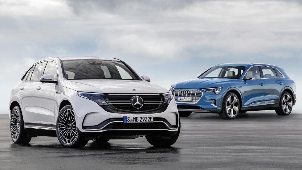 Mercedes EQC y Audi e-tron: el nuevo duelo de SUV eléctricos ya está aquí