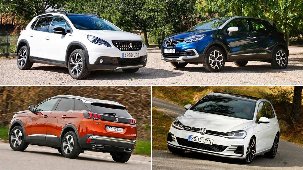 Los 30 coches y SUV más vendidos en Europa en lo que va de año
