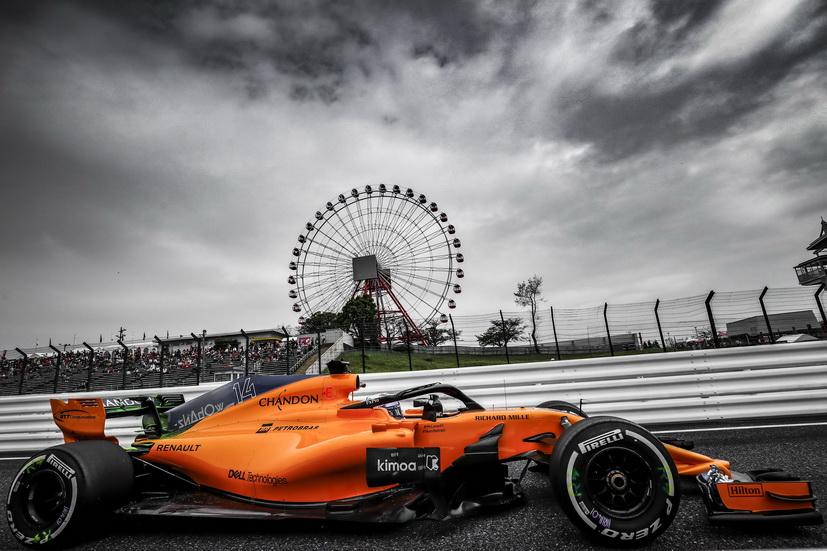 GP de Japón: Alonso trabajó de cara a 2019