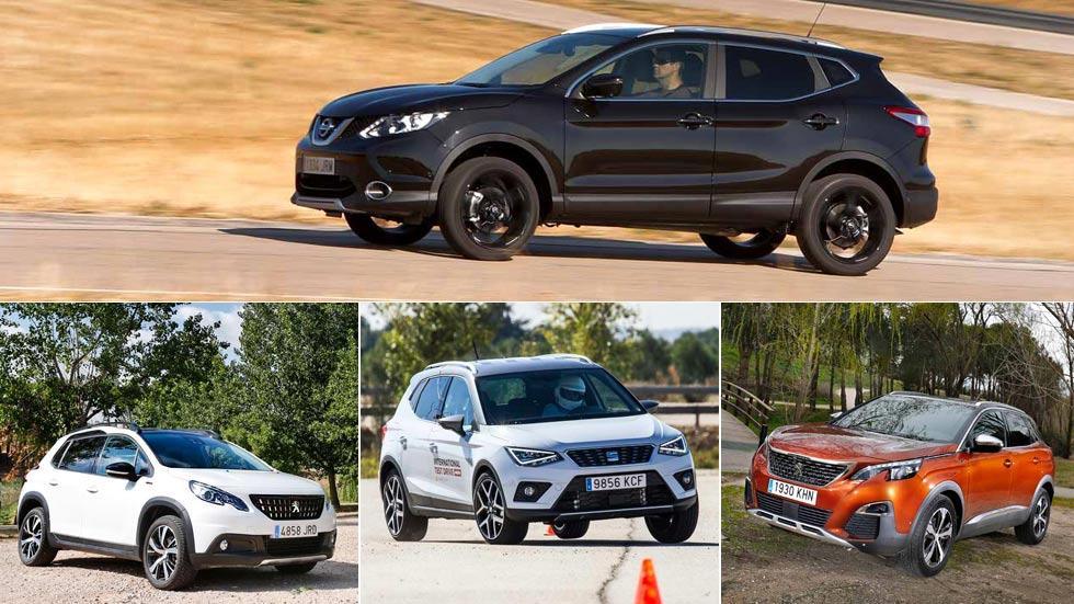 El Nissan Qashqai dejó de ser el SUV más vendido en septiembre: así fue el Top 5
