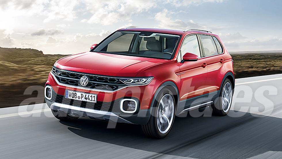 VW T-Cross: así es el nuevo SUV que se presenta este mes