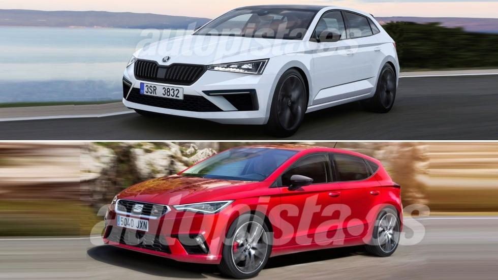 Skoda Spaceback 2019 vs Seat León 2020: el nuevo gran duelo de compactos
