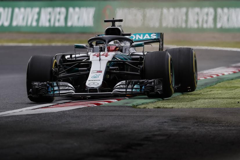 GP de Japón (FP3): Hamilton domina y accidente de Hulkenberg