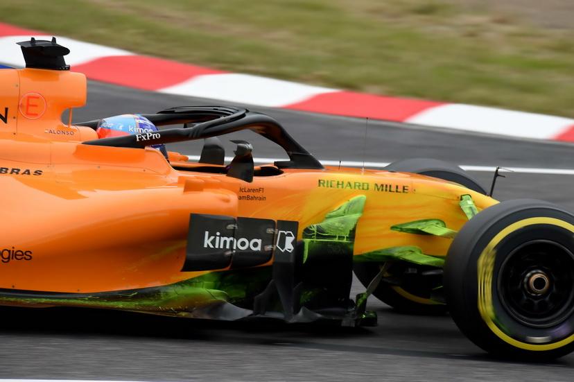 Alonso trata de dejar un buen McLaren en herencia a Sainz