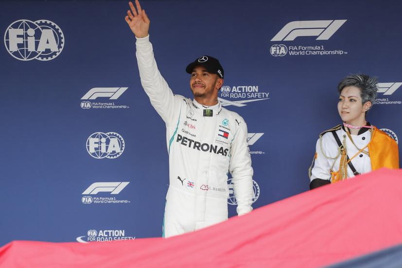 GP de Japón (Q): pole para Hamilton y error de Ferrari