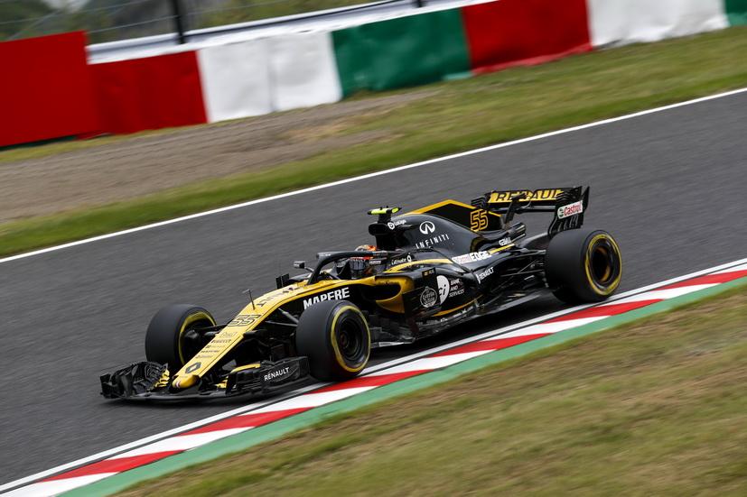 """GP de Japón (Q): Sainz reconoce que """"ni tan mal ni tan bien como parece"""""""
