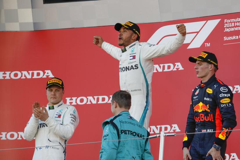 GP de Japón: Hamilton, con el título a mano y a por Fangio