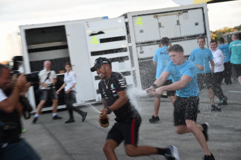Lewis Hamilton: dominio y control total de la Fórmula 1