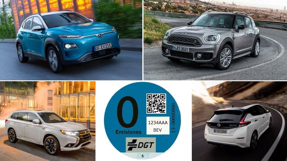 Los mejores coches y SUV con etiqueta Cero Emisiones Azul