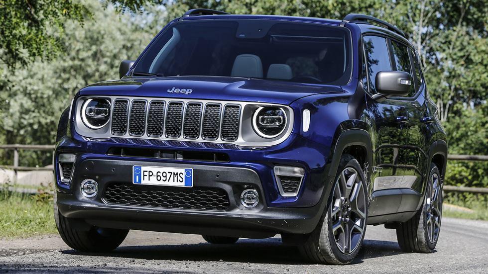Jeep Renegade Híbrido Enchufable: el nuevo SUV que llega en 2020
