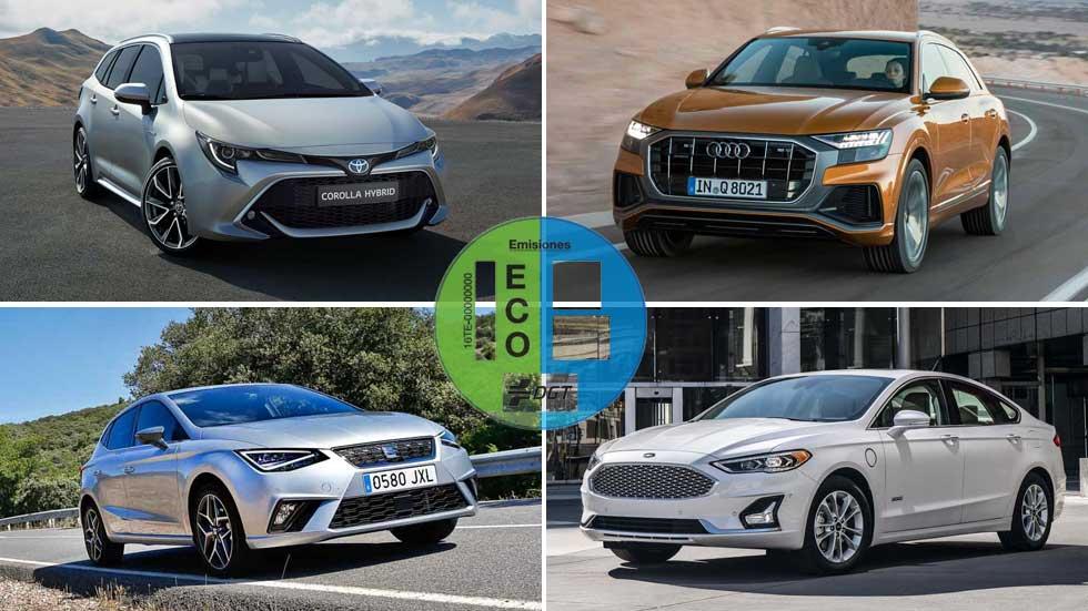 Los 10 mejores coches y SUV con etiqueta ECO de la DGT