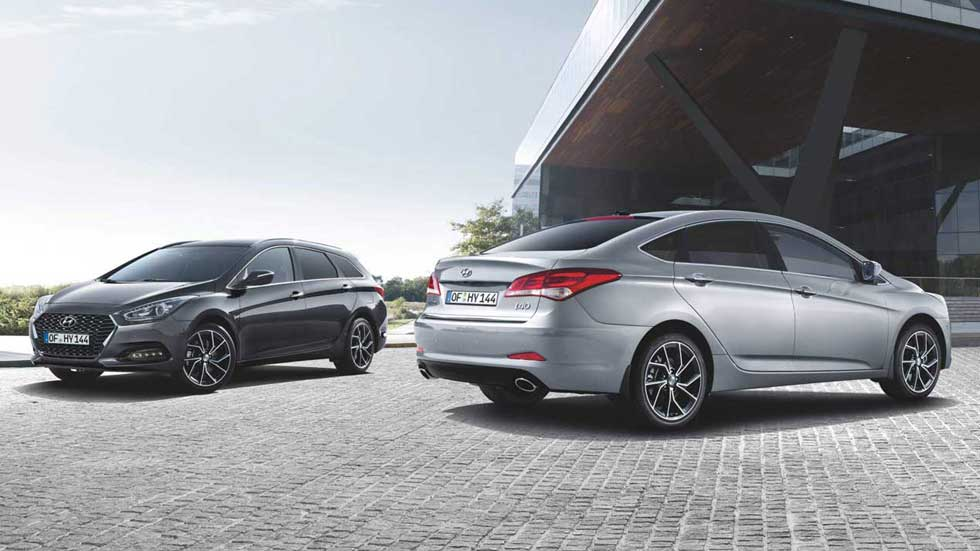 Hyundai i40 e i40 Wagon 2019: así son las nuevas berlinas