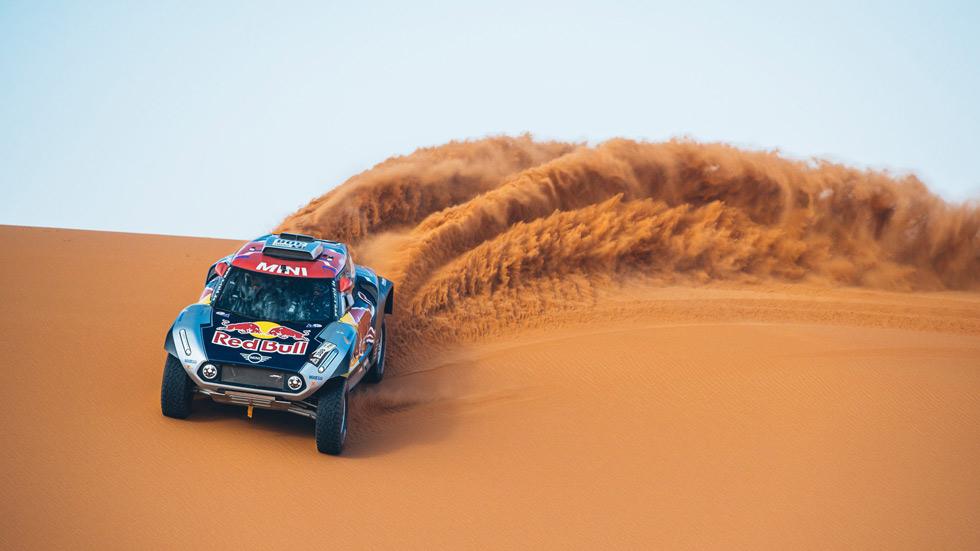 Carlos Sainz se estrena con Mini en el Rally de Marruecos