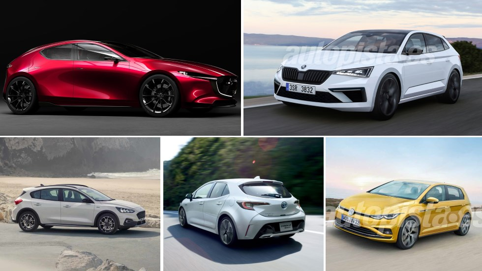 Todos los compactos que llegan en 2019: Golf, Mégane, León, Corolla, Mazda3…