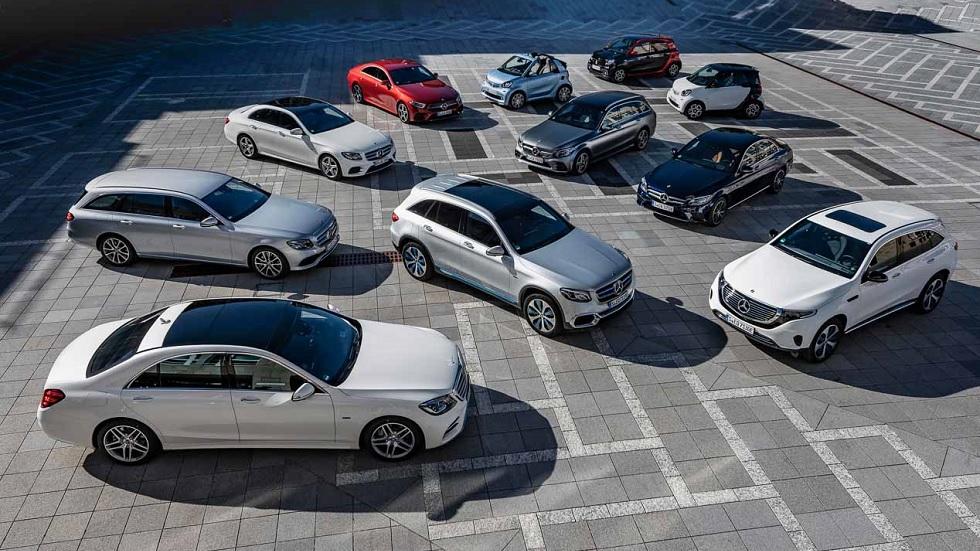 El futuro eléctrico de Mercedes: Clase C, E, S, EQC…