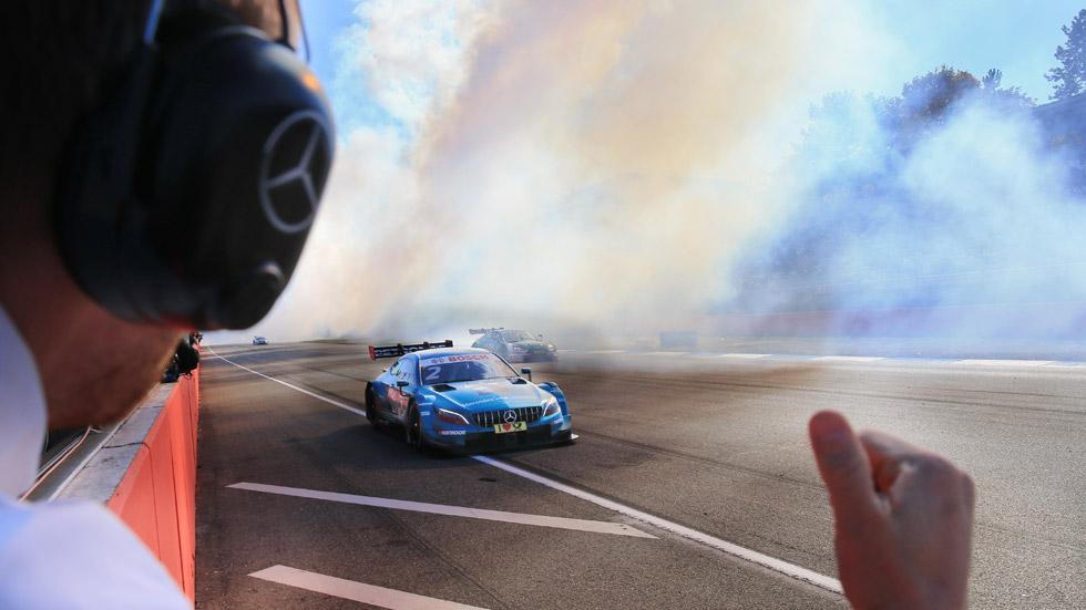 Mercedes se despide del DTM como campeones; ahora, a la Fórmula E