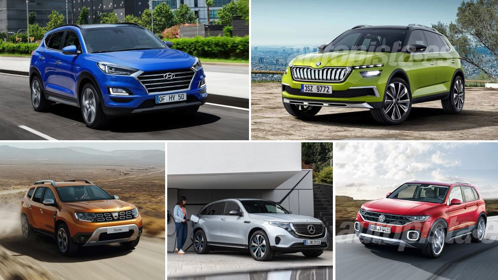 Todos los SUV que llegan en 2019: Kuga, Kadjar, 2008, Tucson, Duster, Tarraco…