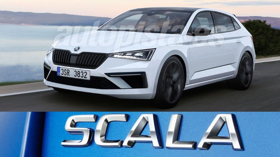 Skoda Scala: el nuevo compacto que llega a inicios de 2019