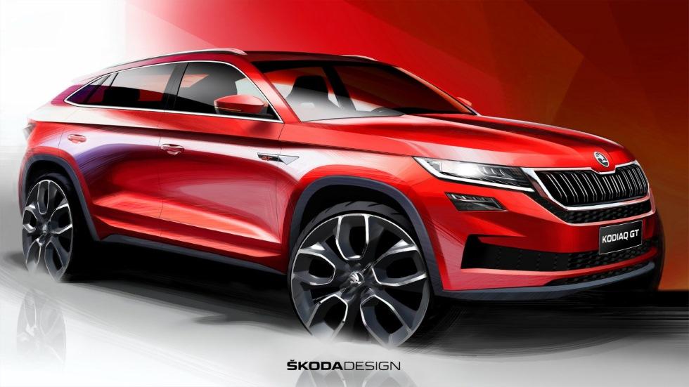 Skoda Kodiaq GT: primeras fotos y datos del nuevo SUV coupé