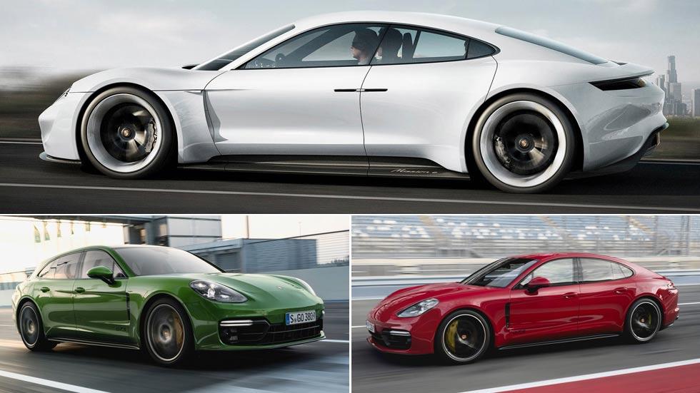 Los nuevos Porsche que vienen: Panamera GTS, Taycan y un SUV 100% eléctrico