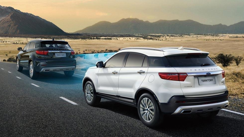 Ford Territory 2019: nuevos datos y fotos del SUV con tecnología del Focus