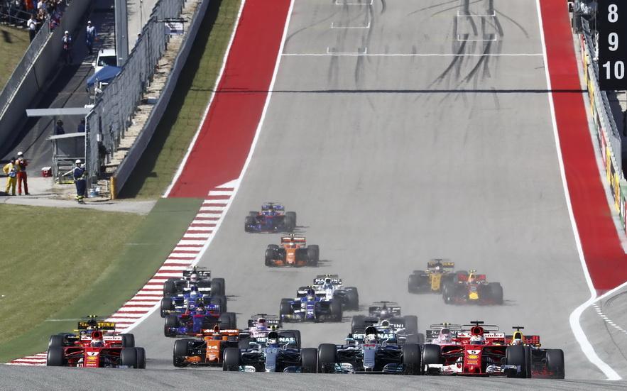 GP de USA de F1: estos son los horarios del fin de semana