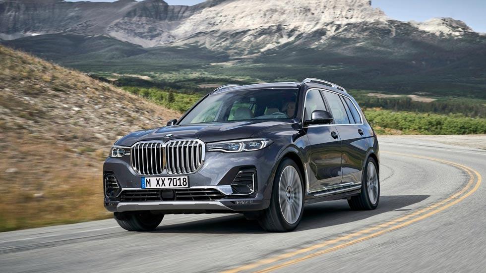 BMW X7 2019: así es el nuevo gran SUV de lujo de 7 plazas