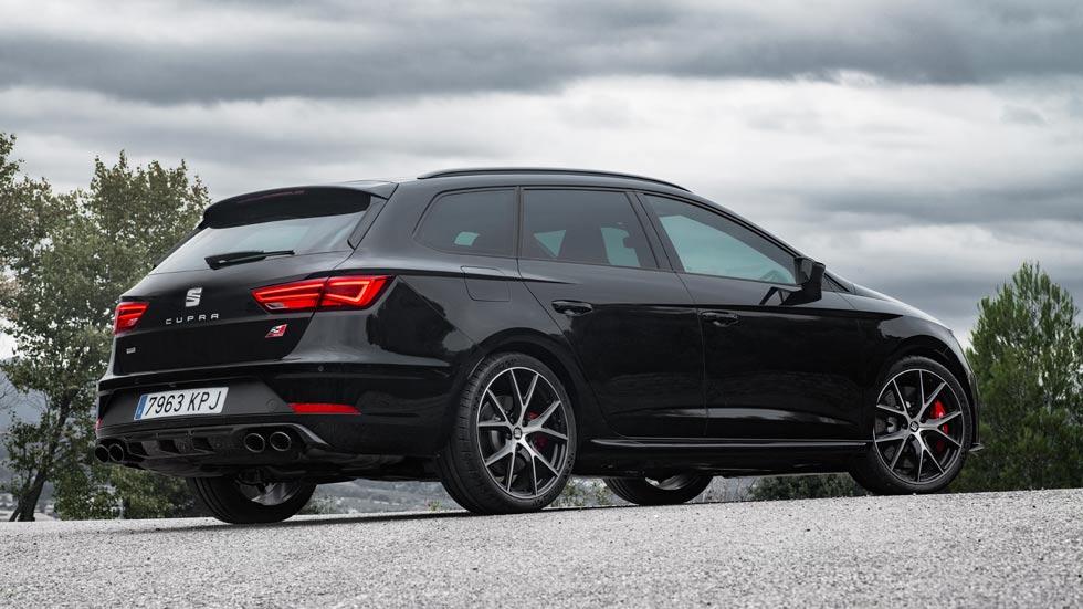Seat León ST Cupra Black Carbon: para las familias más deportivas