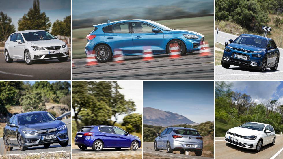 ¿El mejor compacto? Ford Focus frente a sus 9 rivales: 308, Astra, Golf, León…