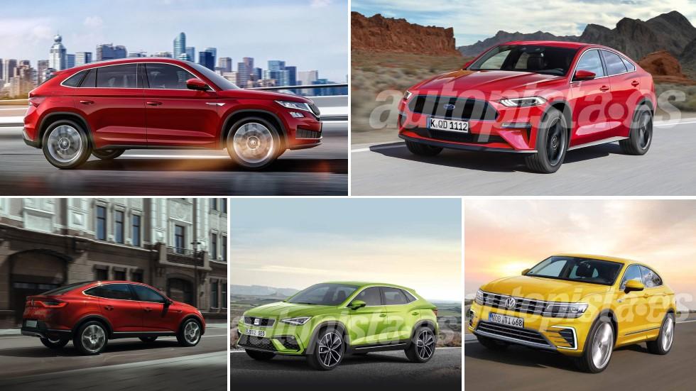 Ford Mach 1 y los nuevos SUV coupé: Ateca, Arkana, Sportage, Tiguan, Kodiaq…
