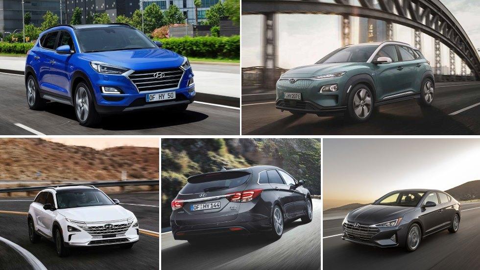 Todos los Hyundai que llegan en 2019: Tucson, i40, Nexo, Elantra y más Kona