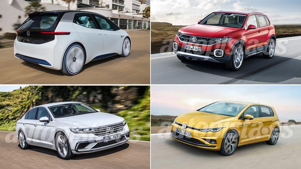 Todos los nuevos Volkswagen que llegan en 2019: Golf, Passat, T-Cross…