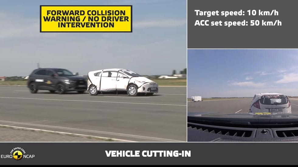 Euro NCAP ya pone a prueba la seguridad en la conducción autónoma
