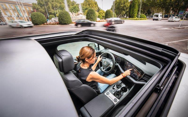 Volkswagen Touareg: máxima tecnología y confort a bordo