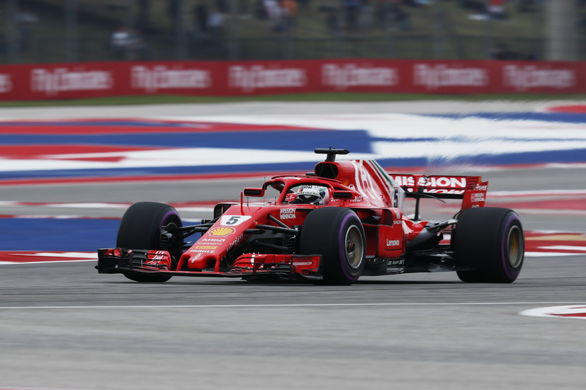 GP de USA (FP3): Ferrari delante de Mercedes y Red Bull
