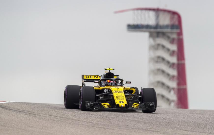 """GP de USA: Sainz estuvo cerca de entrar en el """"top ten"""""""