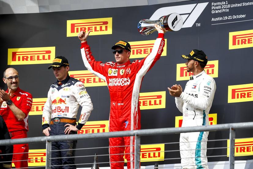 GP de USA: Raikkonen gana y Hamilton no es campeón